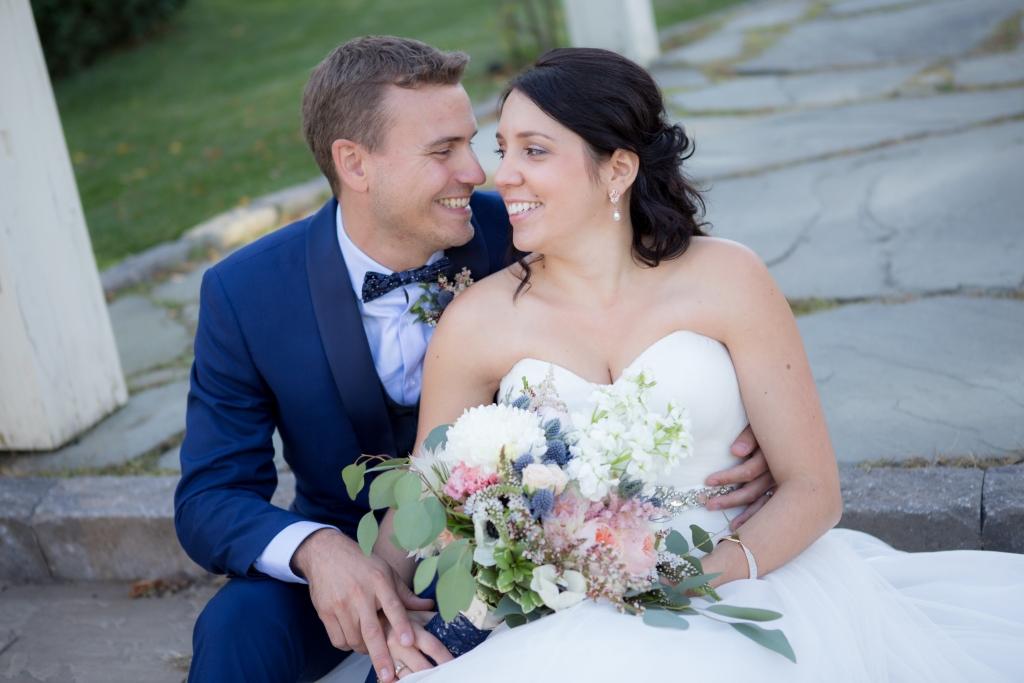 photographe de mariage, nouveaux-mariés au château saint-antoine