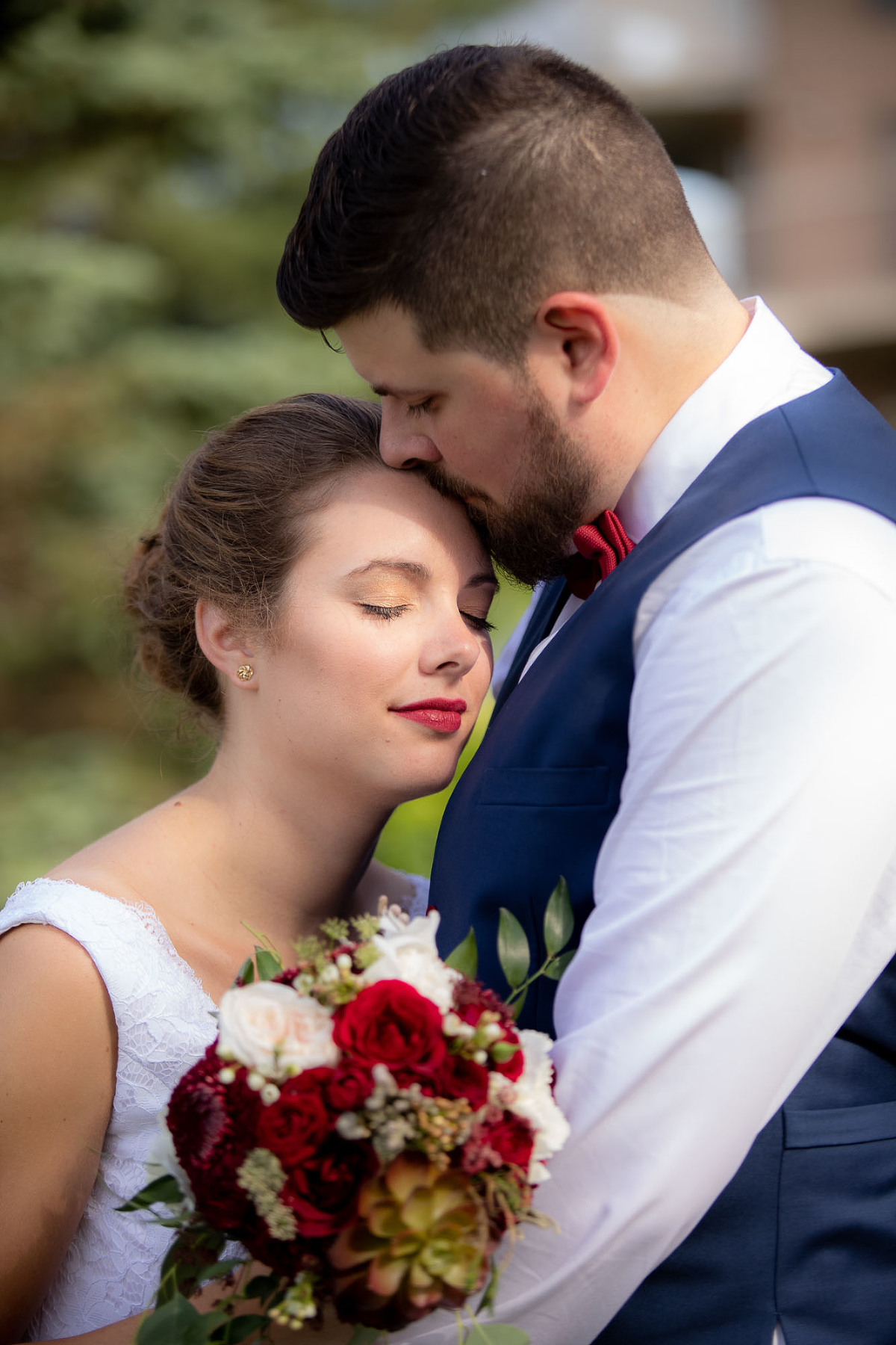 Photographe de mariage, mariage club de golf sherbrooke, fleurs